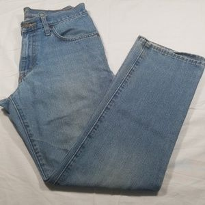 Distressed Mens' Jeans